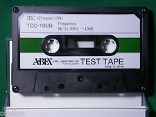 ABEX Alignment Test Tape TCC-182B (Azimuth and Frequency Response Check)