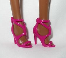 * SHOES ~BARBIE BASIC DOLL MODEL MUSE PINK SANDALS THE LOOK MATTEL HIGH HEEL