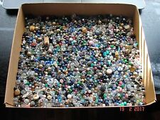 Lot of Three Plus Pounds of Vintage Jewelry Beads, Etc