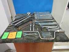 44 PC PROTO TOOL SET WRENCH COMBO BOX OPEN END SAE STANDARD METRIC 22 SPEED