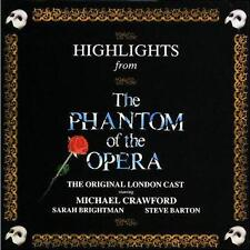 Highlights from Phantom of the Opera CD Special Gold Edition by Original Cast