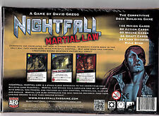 Nightfall: Martial Law - AEG Games - Board Game New / NIB!