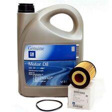 Opel gm 5w-30 DexOS 2 Longlife aceite del motor 5 litros + original filtro aceite 650307 nuevo