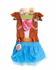 Halloween Disney Sheriff Callie`s Wild West Howdy-Do Hoedown Dress Fits Size 3+
