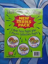 TAZO ALBUM SHEETS 1996 collector pages Simpsons Looney Tunes Frito Lay