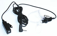 FBI Earpiece PTT Mic for  Cobra 2/Two Way Radio CXT235 CXT135 MicroTalk