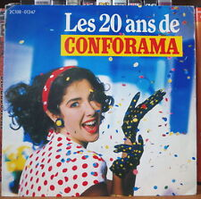 LES 20 ANS DE CONFORAMA DISQUES PUBLICITAIRES BEATLES CHEESECAKE FRENCH SP