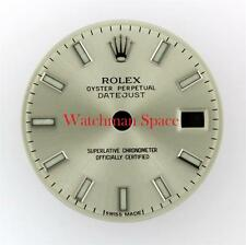 Original Lady Rolex Datejust 179174 Silver Luminous Stick Dial Stainless #A19