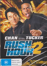 RUSH HOUR 2 - BRAND NEW & SEALED REGION 4 DVD (JACKIE CHAN, CHRIS TUCKER)