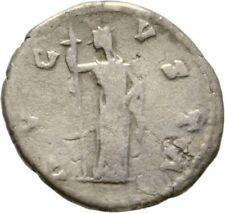 Ancient Rome 138- 141 AD FAUSTINA SENIOR AUGUSTA DENAR AVGVSTI CERES