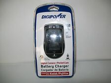 Digipower Digital Camera+Pocket Cam Battery Charger For Kodak/Fuji/Film New