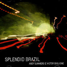 Splendid Brazil; Andy Summers & Victor Biglione 2005 CD, The Police, Indie Very