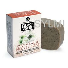 NATURAL Herbal BLACK SEED OATMEAL & HONEY SOAP Vegetable Base/NO ANIMAL Products