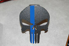 Punisher hitch cover w/blue line