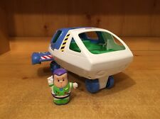 Fisher Price Little People Disney Toy Story Buzz Lightyear Spaceship & Figure