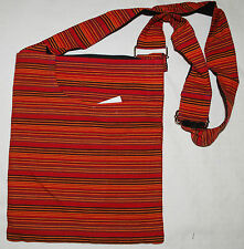NEW HIPPY BAG - Cotton Ethnic Fair Trade Boho Festival Shoulder Hippie Striped