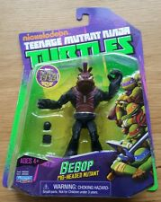 Nickelodeon Teenage Mutant Ninja Turtles bebop figura oscuro Variante Rara