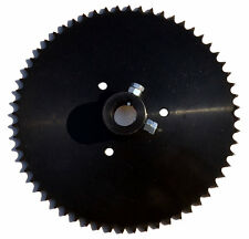 "Live Axle Sprocket, 60T, for 40/41/420 chain, 1"" bore with locking bolts"