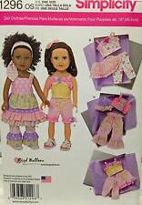New Pattern 1296 Doll Clothes Creative Outfits fit 18 inch American Girl