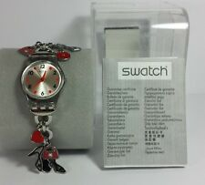 RETRO SWATCH LADIES WRIST WATCH - SHOES HEARTS HANDBAGS - WORKING
