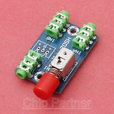 Audio Switching Board 3.5mm Audio Input Block 1-to-2 or 2-to-1 A/B Group