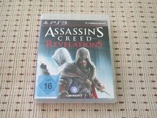 Assassin 's Creed Revelations para PlayStation 3 ps3 PS 3 * embalaje original *