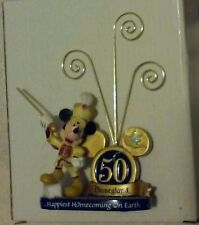Disney 50th Disneyland Anniversary Mickey Picture Clip Frame a