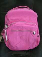 New Kipling BP3020 696 Seoul Backpack with Laptop Protection - Breezy Pink