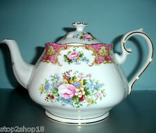 Royal Albert Lady Carlyle Teapot with Lid NEW