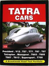 TATRA CARS - R M CLARKE ISBN:9781855208667 CAR BOOK
