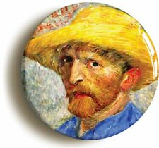 SELF PORTRAIT VINCENT VAN GOGH BADGE BUTTON PIN (Size is 1inch/25mm diameter)