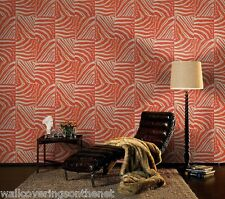 Orange & Cream, Animal Skin Design, Paste the Wall, Featurewall, Wallpaper