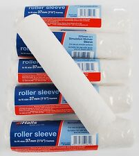 "6 x Halls 225mm (9"") Simulated Mohair Gloss Paint Roller Sleeves (HL52062L)"