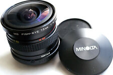 "MINOLTA MD 7.5mm f4 FISH-EYE  for mirrorless cameras  JAPAN  ""GREAT"" super rare"