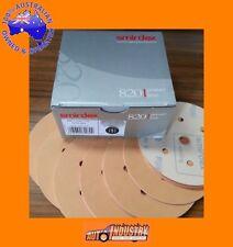 """100 QUALITY SANDING DISCS 500-GRIT 150mm (6"""") 7HOLE SANDPAPER 6+1 SUIT VELCRO"""