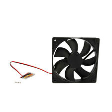 Hot 4 Pins 120mm IDE Chassis Fan Cooling for Computer PC Host Black 12V US