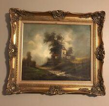 Vintage Gold gilded gesso Picture Frame Ornate Large Painting/Print Frame