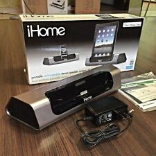 iHome iD8 Rechargeable Portable Speaker Charging Dock for iPad iPhone iPod