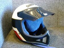 VINTAGE SIMPSON MOTORCYCLE MOTOCROSS HELMET SNELL 1985 SIZE 7 3/8 MX RACING