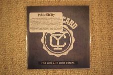 "YELLOWCARD ""For You, And Your Denial"" - promo CD  [When You're Through Thinking]"