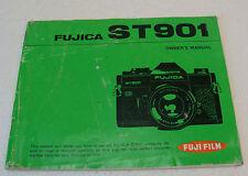 In English Instructions. Notice originale du Fujica ST901. Owner Manual