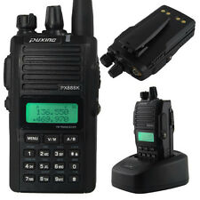 New Puxing PX-888K 9W UHF+VHF Dual Band Walkie Talkie Two Way Radio Transceiver