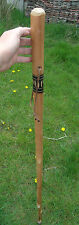 "Staff Walking Stick Wood Shepherd Cane Thick Farmer Walking Hiking Stick 49""Tall"