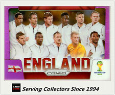 2014 Prism FIFA Soccer Purple Prism Country Logo England -09/99
