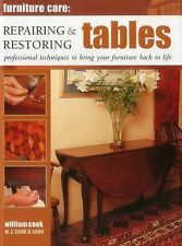 Furniture Care: Repairing & Restoring Tables: Professional Techniques To Bring..