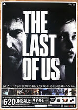 The Last of Us RARE PS3 51.5 cm x 73 Japanese Promo Poster