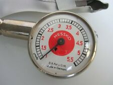 RED DOT MESSKO TIRE PRESSURE GAUGE PORSCHE 356 550 911 TOOL BOX ACCESSORY NOS