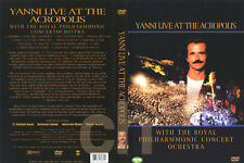 YANNI - Live At The Acropolis (1994)  DVD NEW