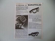 advertising Pubblicità 1973 OCCHIALI BARUFFALDI