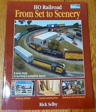 How to Book: #12144 HO Railroad From Set to Scenery (We Combine Ship)